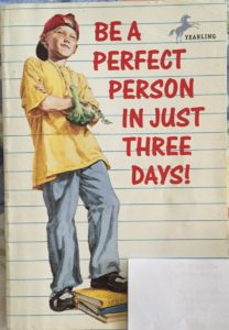 Be A Perfect Person funny read aloud