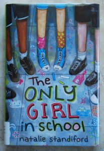 Only Girl in School great chapter book for girls