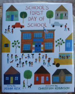 School's First Day back to school book