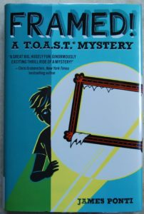 Framed brilliant mystery for kids