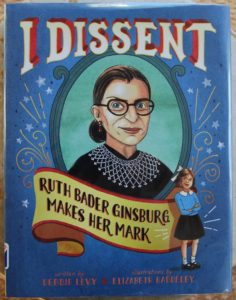 I dissent picture book that makes its mark