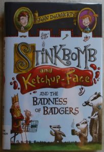 Stinkbomb and ketchup-face silly book for kids