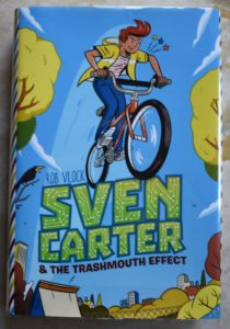 hilarious science fiction book for kids sven carter