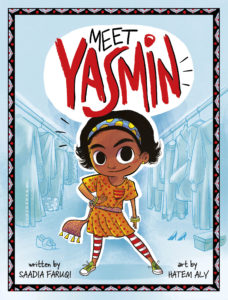 spirited new entrant in early chapter books meet Yasmin