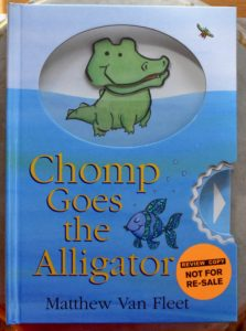 book toddlers will eat up chomp goes the alligator